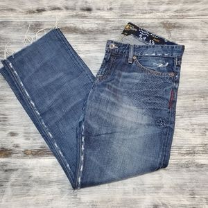Lucky Brand   Riley embroidered